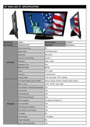 Upstar P40EWT Leaflet