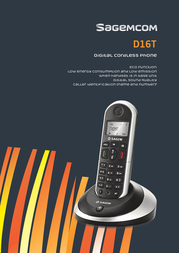 Sagemcom D16T Duo D16TDUO Leaflet