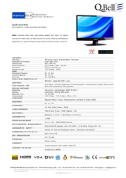 QBell Technology QXP.236WB P219500A Leaflet
