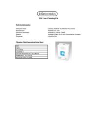 Nintendo Lens Cleaning Kit GACC2047 Leaflet