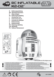 Dickie Toys Dickie RC Inflatable Star Wars R2-D2 201120001 Data Sheet