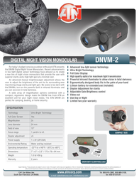 ATN DNVM-2 DGMNNVM2C Leaflet