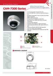 ACTi CAM-7321 CAM-7321P Leaflet