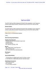 Zotac ZT-52FPB2N-HSL Leaflet