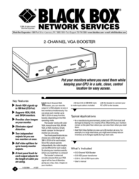 Black Box AC074A-R3 Leaflet