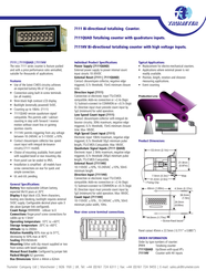 Trumeter 7111HV Data Sheet
