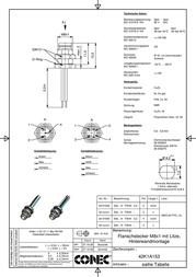 Conec 42-01034 SAL-8-FSH3-0,2 42-01034 Data Sheet