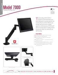 Innovative Office Products 7000 7000-1000-104 Leaflet
