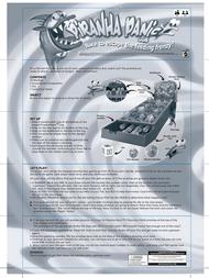 Mattel Piranha Panic J5924 Leaflet