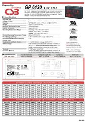 CSB GP6120 Leaflet