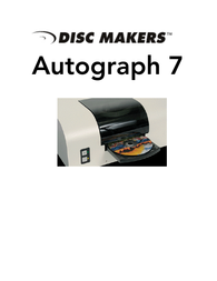 Disc Makers autograph vii User Guide