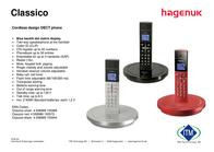Hagenuk Classico Silver DUO CL. ZILVER DUO Leaflet