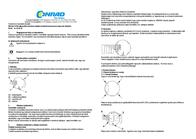 Homematic 76785 Wireless switch interface 3-channel Max. range (open field) 100 m 76785 Leaflet