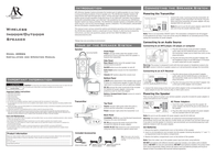 Acoustic Research AW826 Leaflet