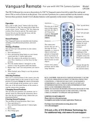 X10 cr15a User Guide