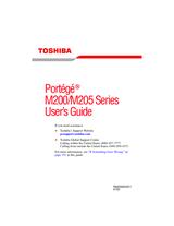 Toshiba M200 User Manual