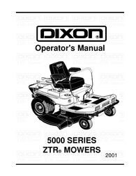 Dixon ZTR 5017Twin User Manual