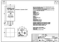 Kraecker Kräcker 12 Vdc Automotive Relay 15 A 24.1400.20 Data Sheet