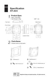 Hontech HT-A03 Leaflet