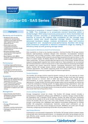Infortrend ESDS-B12S-R1030-MB Leaflet