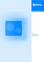 Balay 3et7038lp User Manual