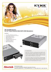 ICY BOX IB-2222SSK Leaflet