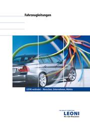 Leoni 76781104K006, FLY Single Core Wiring Cable, 1 x 1.5 mm², AWG, Black, Green Sheath 76781104K006 Data Sheet