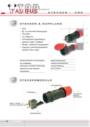 Pce Network couplingRubber power coupling Black IP44 2511-s Data Sheet