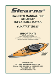 Stearns YUKATAT B523 User Manual