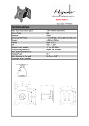 Highgrade AR011 HG-AR011 Leaflet