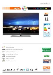 MyTV TLHG 32 TLHG32 Leaflet
