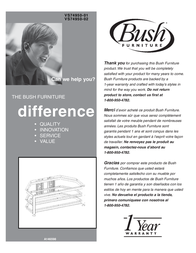 Bush VS74950-01 User Manual