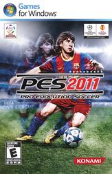 Konami Pro Evolution Soccer 2011 4012927073599 User Manual
