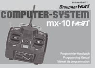Graupner Hendheld RC 2.4 GHz No. of channels: 5 33110 User Manual
