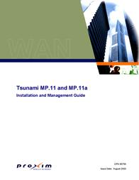 Proxim Tsunami MP.11 and MP.11a CPN 65755B User Manual