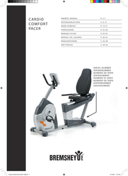 Accell Cardio Comfort Pacer User Manual