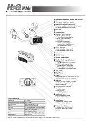 Intova h2o man g3 User Guide