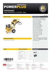 VARO POWXG9007 Leaflet