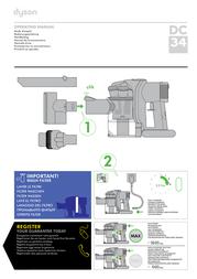 Dyson DC34 21492-01 Data Sheet