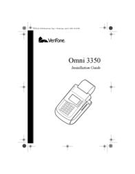 VeriFone 3350 User Manual