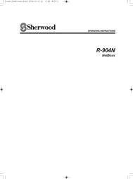 Sherwood R-904N User Manual