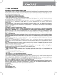 Joycare JC-434 B JC-434B User Manual