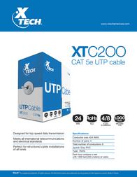 Xtech XTC-200 Leaflet