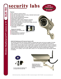Security Labs SLW-164 Leaflet