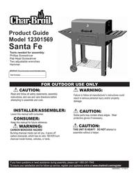 Char-Broil CB Santa 12301569 User Manual