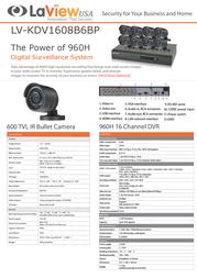 Laview LV-KDV1608B6BP Leaflet