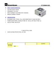 Seventeam ST-250MAD Leaflet
