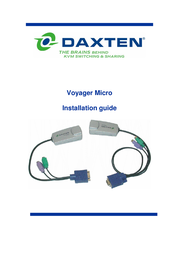 DAXTEN Voyager Micro PS/2 1032-01MP User Manual