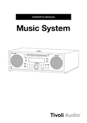 Tivoli Audio Music System User Manual