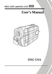 DXG -535v User Manual